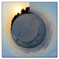 Planets - Digitally Edited Panoramics into Worlds